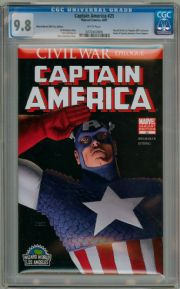 Captain America #25 Wizard World Los Angeles WWLA Variant CGC 9.8 Civil War Marvel comic book